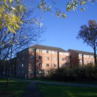 Telford Court in college lane campus University of Hertfordshire, Хатфилд