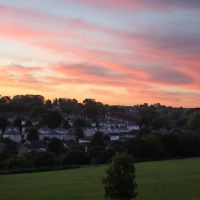 Sunset over Hemel Hempstead, Хемел-Хемпстед