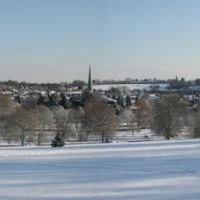 Gadebridge Park in The Snow Panoramic, Хемел-Хемпстед