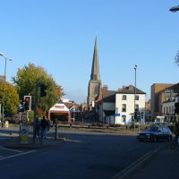 Hereford from the Tesco junction, Херефорд