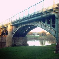 The bridge in Hereford, Херефорд