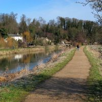 River Lea Path, Хертфорд