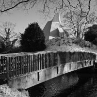 Bridge over the River Lea - Hertford, Хертфорд