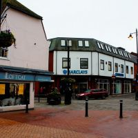 Bircherley Green Shopping Centre - view of market Street - Hertford, Хертфорд