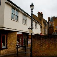Alleyway to Fore Street - Hertford, Хертфорд
