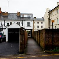 The back of Fore street near the multistorey car park - Hertford, Хертфорд
