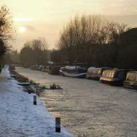 R Lea - Winter, Хертфорд