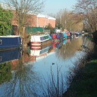 River Lee Navigation, Hertford, Хертфорд