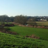 River Lee Valley, West of Hertford, Хертфорд