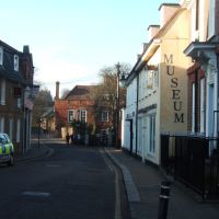 Bull Plain leading to Folly Island, Hertford, Хертфорд