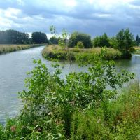 Confluence of Lee Navigation and River, Хертфорд