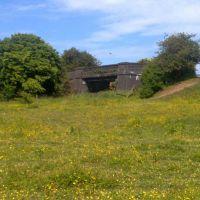Old bridge over former railway, Хиндли