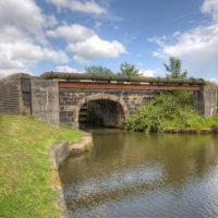 Wigan Flight - Bridge near Lock 69, Хиндли