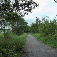Lkn SE on the former Whelley Loop Line, Хиндли