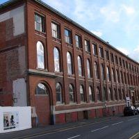 The old Atkins/Aspira Knitwear Factory, Хинкли
