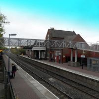 Hinckley Railway Station, small but functional, Хинкли