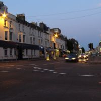 Church Road, Hove, looking towards Brighton, Хоув