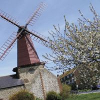 Windmill - West Blatchington mill, Hove, East Sussex, Хоув