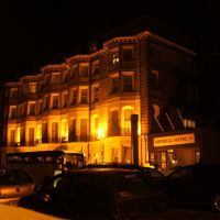 Imperial hotel by night, Хоув