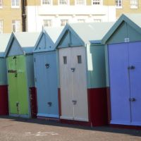 Row of Beach Huts, Хоув
