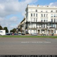 England - Sussex - Brighton - Seafront buildings, Хоув