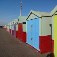 Beach Huts On Hove Seafront, Хоув