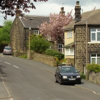 School Lane looking towards Norfolk Hill, Grenoside, Sheffield S35, Чапелтаун