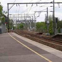 Chelmsford Railway Station - Facing towards Witham., Челмсфорд