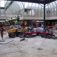 Butterflies Cafe during renovation in High Chelmer Shopping Centre, Челмсфорд