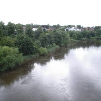 from Grosvenor Bridge, Честер