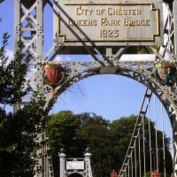 Welcome to City of Chester - Queens Park Bridge, Честер