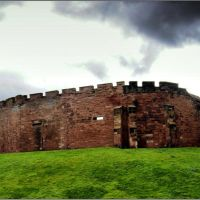 Chester Castle view from the Walls, Честер