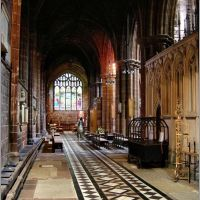 Interieur de la cathedrale de CHESTER, Честер