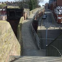 City Walls at Morgans Mount, Chester, Честер