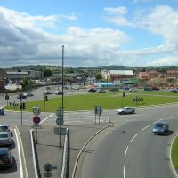 Hornsbridge Roundabout Chesterfield, Честерфилд