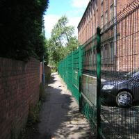 Lane behind Spital Tiles, Честерфилд