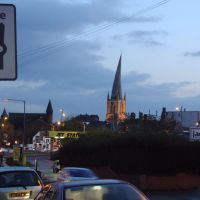 """Church of Saint Mary and All Saints (""""Crooked Spire"""") - Chesterfield, to S-E (i), Честерфилд"""
