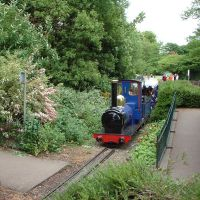 Chesterfield - Queens Park Miniature Railway, Честерфилд