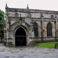 """St mary & all saints"" chesterfield. derbyshire july 2012, Честерфилд"