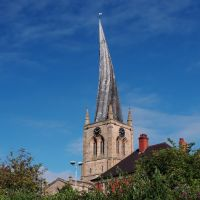 """crooked spire"" (C of E) chesterfield. derbyshire. sep 2012, Честерфилд"