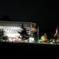 Chichester Festival Theatre at Night, Чичестер
