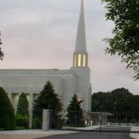 Preston LDS Temple at Dusk, Чорли