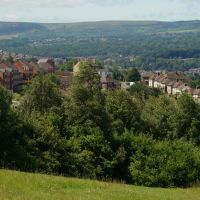 Arbourthorne from Norfolk Park with Ecclesall Wood and Totley Moor in the Distance, Sheffield S2/S7/S17, Шеффилд