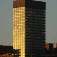 University of Sheffield Arts Tower at sunrise, Sheffield S3/S10, Шеффилд