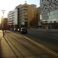 Looking towards Derwent House on Arundel Gate, Sheffield S1, Шеффилд
