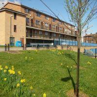 Bramwell Close maisonettes, Netherthorpe, Sheffield S3, Шеффилд