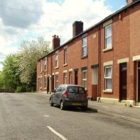 Terraced housing on Maxwell Way, Burngreave, Sheffield S4, Шеффилд
