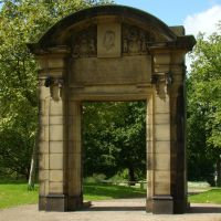 Preserved arch 1, Norfolk Heritage Park, Sheffield S2, Шеффилд