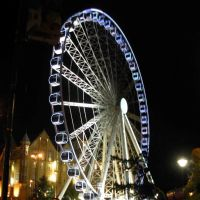 Sheffield Eye @ Night, Шеффилд