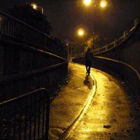 Walking in the rain at night., Шеффилд